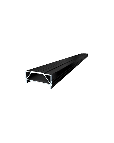 Alu – UK 64x30x4000mm TWIXT- Isostep-CLIP-Schienen